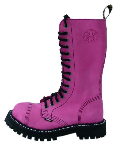 15 dírkové boty STEEL ROCK -135-136-0 PINK - STEEL 15 dírkové  a5f961c794